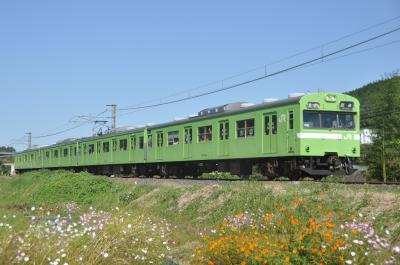 103系団体臨時列車 2018年10月