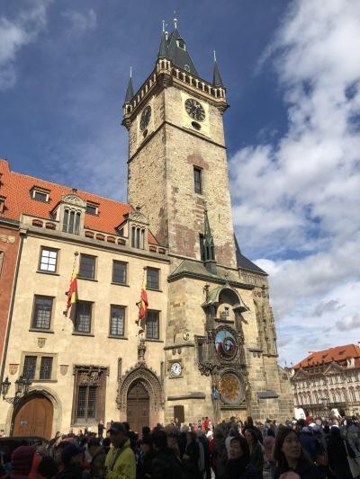 中世の街並みと世界遺産 中欧4か国ツアー 4日目 プラハ歴史地区観光