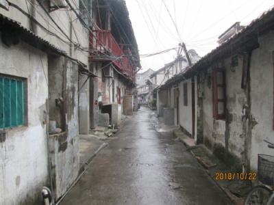 上海の川沙古鎮・東門街・古住宅街並み