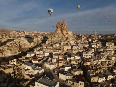 【バイト先の同僚とトルコ旅行】(4-6日目:カッパドキア、イスタンブールのモスク・バザール巡り)