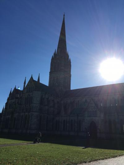 海外旅行初心者が行く イギリス一人旅(2-1)ロンドンからソールズベリー大聖堂へ