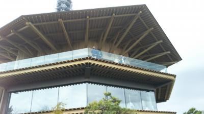 日本平山頂に完成した、「日本平夢テラス」を見学に行く!