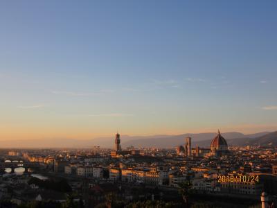 ローマ・フィレンツェ5泊の旅♪