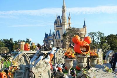 35周年のディズニー・ハロウィーン 【前編】 コワくてゾクッとするゴーストの世界を楽しもう!