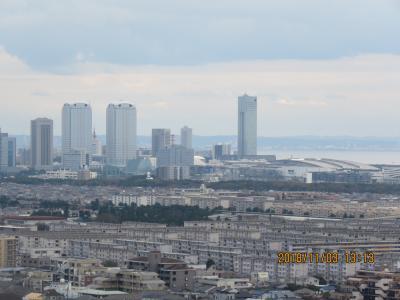 習志野市奏の杜の高層マンションから見られる風景