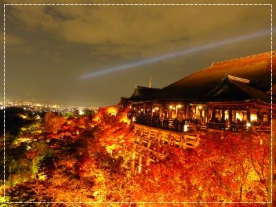 【2016年秋】紅葉の京都へ・夜間拝観編