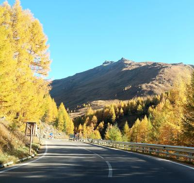 団塊夫婦のヨーロッパ紅葉を巡る旅・2018ー(9)オーストリア1・すばらしい黄葉の中グロスグロックナーを走る