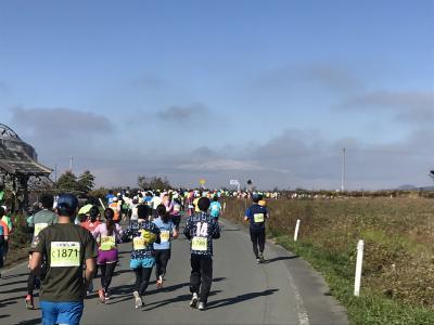 2018年11月 山形旅行記(ラフランスマラソン参加)②天童ラ・フランスマラソン2018でラフランス食べ放題