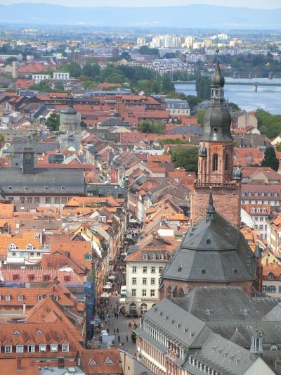 中世の歴史と伝説が香る~ハイデルベルグの街歩き