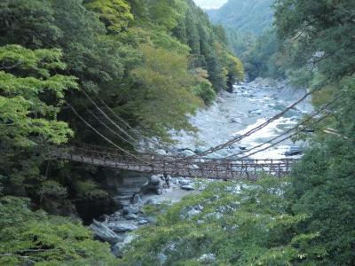 JALどこかにマイル第5弾 ひょいと秋の徳島、大歩危・祖谷渓に参る