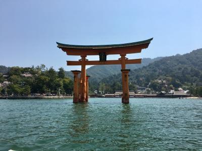 ☆母娘で厳島神社と広島観光☆ 2018 4月