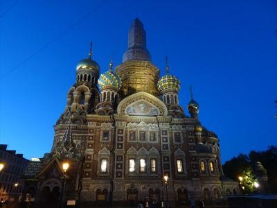 2018年09月ロシア(15) 血の上の救世主教会
