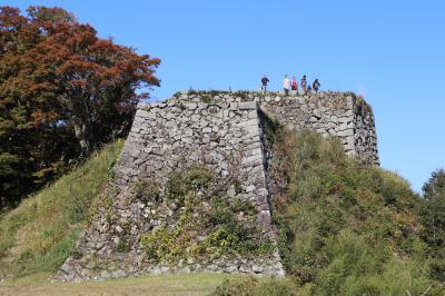 坂崎出羽守(宇喜多詮家)が縄張りして大幅な改築が行われた天空の山城三本松城登城