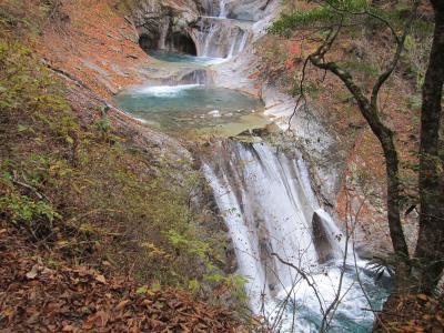 紅葉の西沢渓谷散策