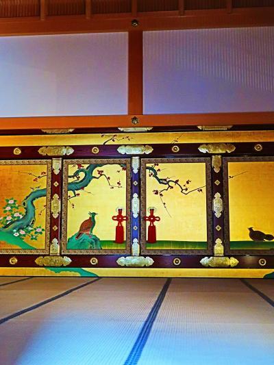 名古屋城本丸御殿2/5 表書院あたり ☆花鳥、麝香猫が彩る正式な謁見の間