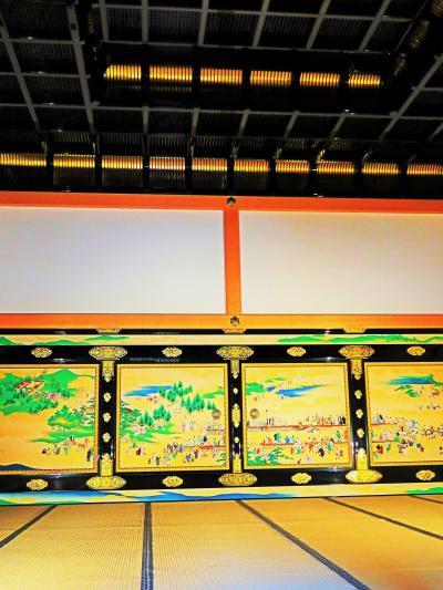 名古屋城本丸御殿3/5 対面所あたり ☆身内だけが立ち入れる豪奢かつ私的な殿舎