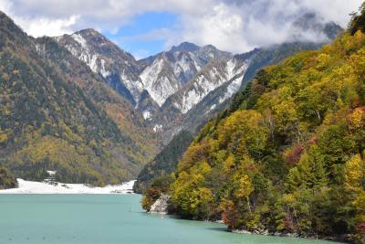 七倉温泉と高瀬渓谷の素晴らしい紅葉 2018 ~北アルプスの秘境~(長野)