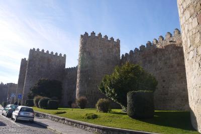 無料航空券で年末マドリード旅行 その3 ヘラクレスが作ったという伝説が残る城壁と聖人の町アビラ