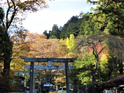 紅葉の日光と古峯神社へ。
