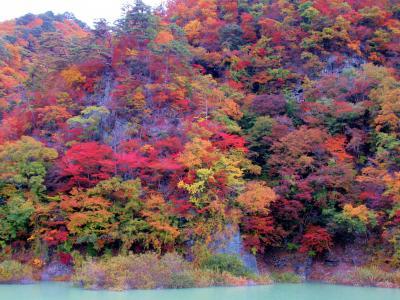 2018年秋川治ダム湖周辺「日光日向~塩原」の鮮やかな紅葉に癒されてきました。