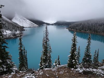 世界遺産(カナディアン・ロッキー山脈自然公園群:バンフ国立公園)