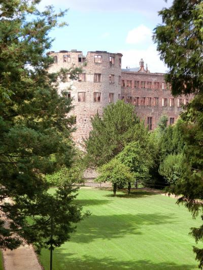 ハイデルベルグの古城 歴史巡り