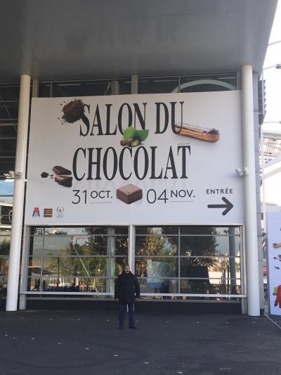 *弾丸パリ*ひとり旅2泊4日①出発~サロンデュショコラ in Paris