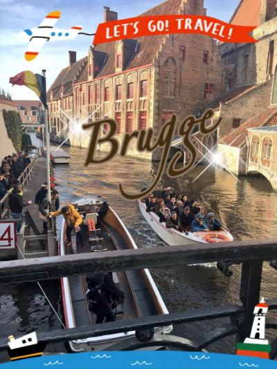 ベルギー滞在記③~水の都ブルージュ~