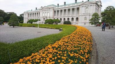迎賓館赤坂離宮見学、その後はオテル・ドゥ・ミクニでランチ