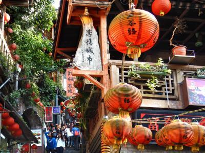 台北25時間九分と夜市巡り一人旅