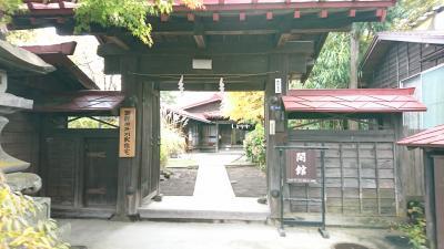 最後に御師旧外川家住宅へ行ってきました。
