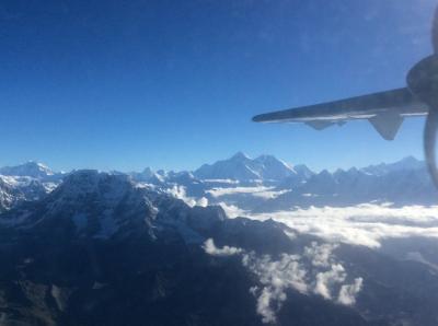 神々と出会うネパール カトマンドゥ盆地世界遺産を巡る旅② マウンテンフライト&スワヤンブナート