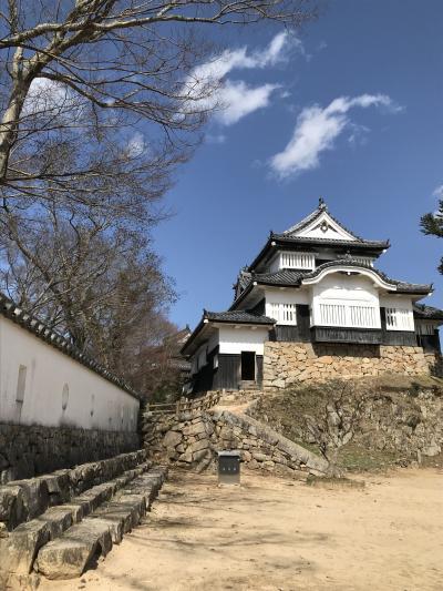 湯原温泉と備中松山城