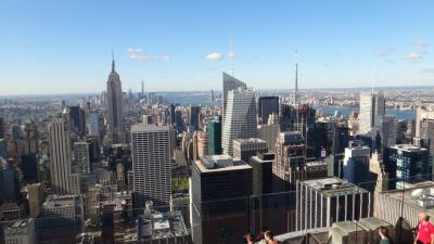 【ニューヨーク一人旅】3日目:ロックフェラー、ワシントンスクエアー、ソーホー、リトルイタリー、チャイナタウン、グランドゼロなど