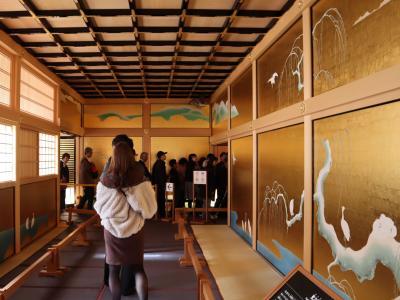 名古屋城・・豪華絢爛な武家風書院造り、本丸御殿を訪ねます。