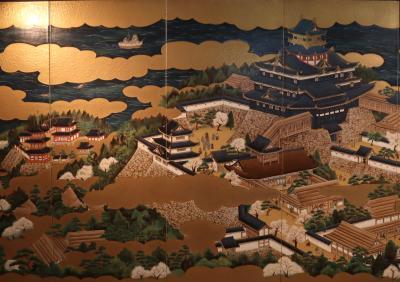 安土城・・織田信長が天下統一をめざして築城した安土城跡を訪ねます。