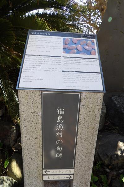 江の島・福島漁村の句碑