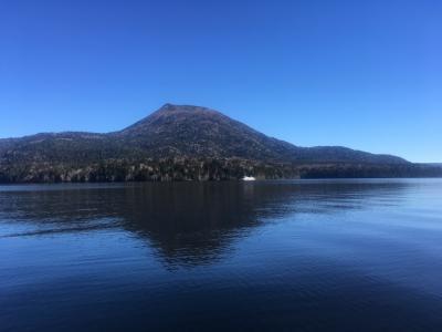 釧路☆阿寒湖の美しい青
