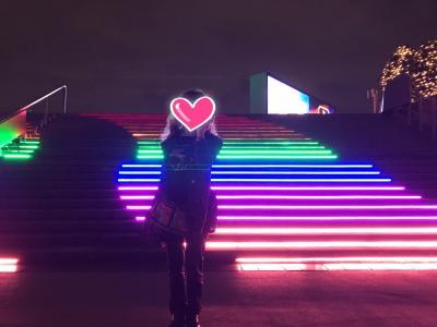 やっちゃった(> <) 大井競馬場 TOKYO MEGA ILLUMINATION & 品川イルミ♪