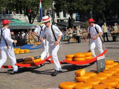 【13】チーズマーケット@Alkmaar★キミと行くベルギー&オランダの旅12日2018.8◆11日目