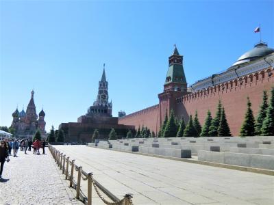 嬉しい誤算続きのロシア旅行 4 快晴のモスクワ観光①(赤の広場、アルバート通り)