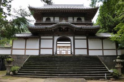 中国33観音霊場第二十番札所 霊椿山大照院で毛利家の墓所を観る