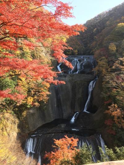 秋の茨城、絶景と紅葉の旅(日本三名瀑「袋田の滝」と「月待の滝」、そしてバンジージャンプも出来る「竜神大吊橋」に行って来ました)