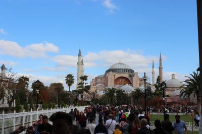 マルタ・トルコのひとり旅 その4 イスタンブール編 スラアヤソフィア泊