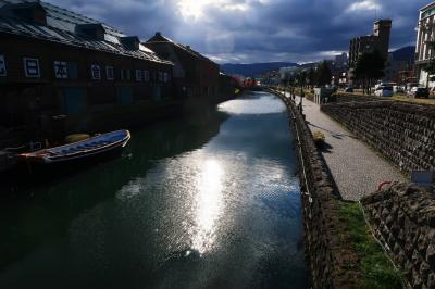 11月初旬の北海道ひとり旅(2)~昼間の小樽も素敵です。