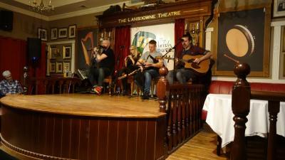 音楽と街並み散策のダブリン