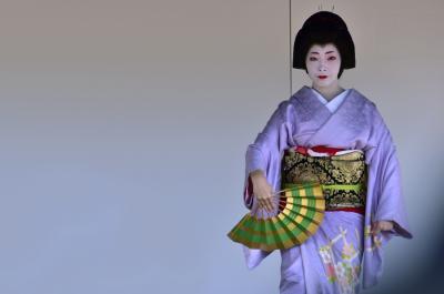 2018きもので集う園遊会(3)京都ミスきもの/舞妓・芸妓舞踊