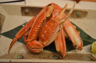 梅田で解禁直後の蟹