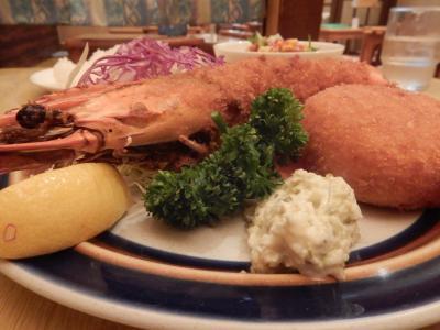 箱根湯本 洋食スコットでのランチと散策