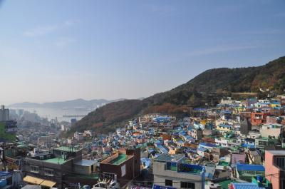 2018年11月釜山一泊弾丸旅行4(甘川文化村)